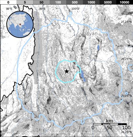Population Exposure Map